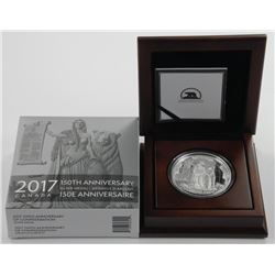 2017 - 150th Anniversary Silver Medal, 10oz .9999