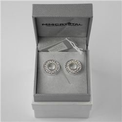MM Custom Circle of Life - Earring 6.00ct. Swarovs