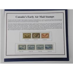 Air Mail Stamp Collection. Canada - Mint Condition