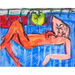 Henri Matisse (French 1869-1954) OOC Nude