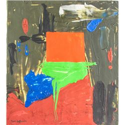 Hans Hofmann 1880-1966 American Oil Abstract