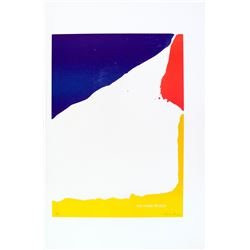 Helen Frankenthaler 1928-2011 US Lithograph Color