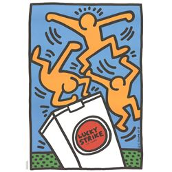 Keith Haring 1958-1990 Lithograph Pop Art