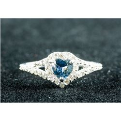 0.70ct Sapphire & 0.40ct Diamonds Ring CRV $3600