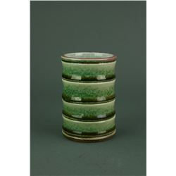 Fine Green Glazed Porcelain Cup