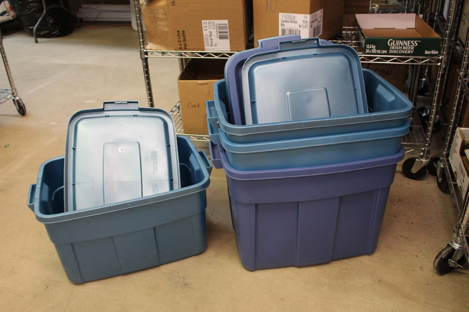 factory gallon tub tank product stock rubbermaid fish supply plastic aquaculture pond detail tubs
