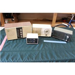 Lot Of Vintage Radios (4) (All Working)