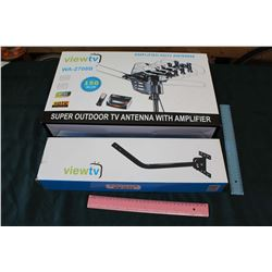 ViewTV Amplified HDTV Antenna, New in Box