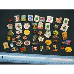 Lot of Various Pins