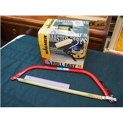 """24"""" Bow Saw & A Master Series Power Roller"""