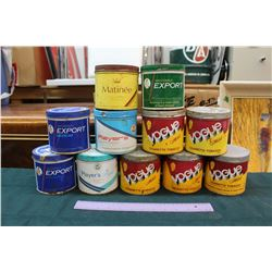 Lot of Tobacco Tins (11)