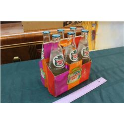 Vintage Canada Dry Bottles w/Carton (Bottles are Sealed)