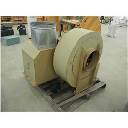 Dust Collector Fan, Needs Motor, Comes W/ 1/2 HP Electric Motor
