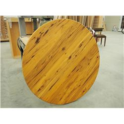 """Hickory Table Top, 48"""" Diameter"""