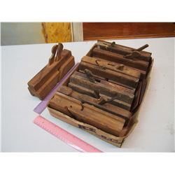 Lot of Wooden Planes