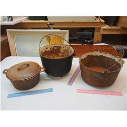 Vintage Cooking Pots (3)