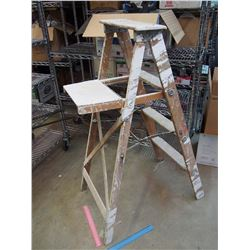 "Wooden Ladder 45"" Tall"