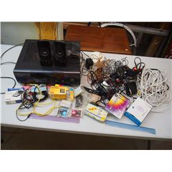 Lot of Various Cords & Electronics