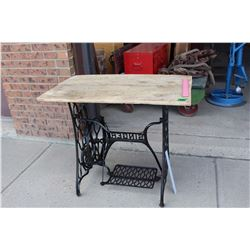 Singer Sewing Table