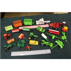 Lot of Tractor Toys/Parts