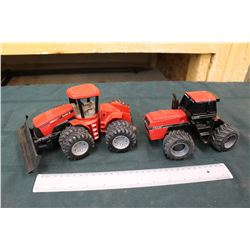 International Case Tractors (2)(1 Plastic, 1 Metal)