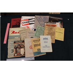 Lot of Service Manuals and Related