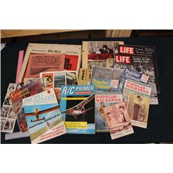 Lot of Vintage Paper Related- Mostly Magazines