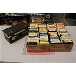 Lot of 8 Tracks w/A Case
