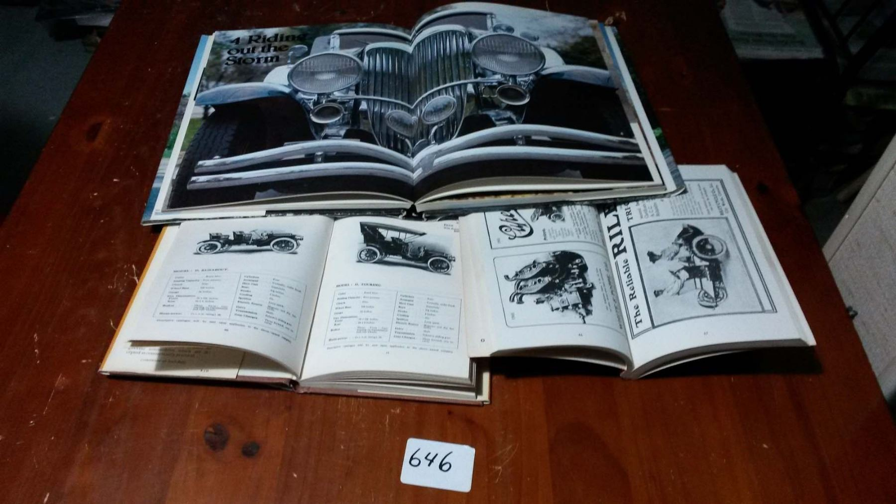 Vintage Car Books (3)