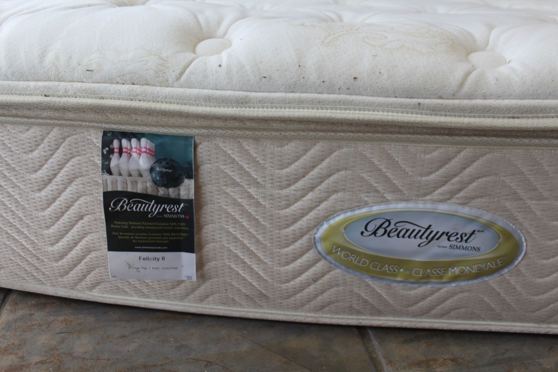 Queensize Beautyrest Felicity Ii Pillowtop Mattress And Box Spring