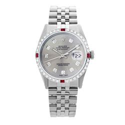 Rolex Pre-owned 36mm Mens Silver Stainless Steel - REF-580Y4W
