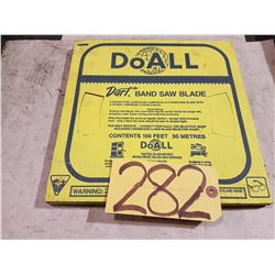 DoALL Band Saw blade Coil 1/4''