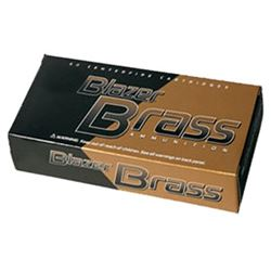 CCI BLAZER BRASS 9MM 124 FMJ - 500 Rounds