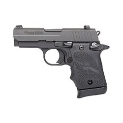 "SIG P938 9MM 7RD 3"" BLK FNS RBR"