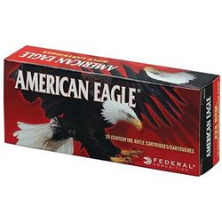 FED AM EAGLE 223REM 55G FMJ BT - 500 Rounds