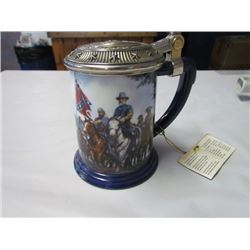 General Robert E. Lee Civil war collector tankard