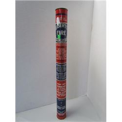 "Liberty fire extinguisher 22"" tall 3lbs"