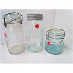 Crown, Atlas, Easy seal, Crown perfect seal mason jars