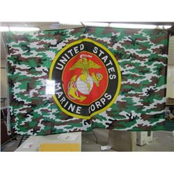 United States Marine Corps flag 36x60 (Afghanistan)