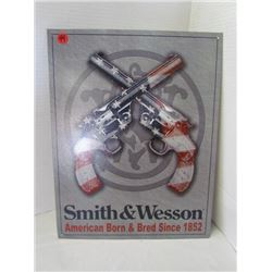 Smith & Wesson 1852 Metal sign 16x12.5 (repro)