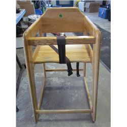 Oak Highchair 29.5""