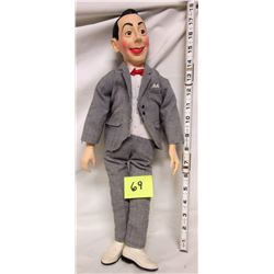 "1987 17"" poseable PeeWee Herman Doll"