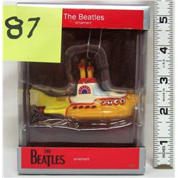 "2012 Beatles heirloom collection ornament ""Yellow Submarine"""