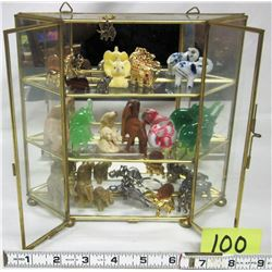 20 assorted mini elephants/display