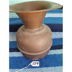 "10"" Brass Spittoon"