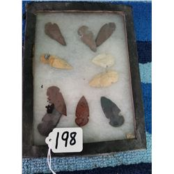 Framed Collection of Sharp Rocks