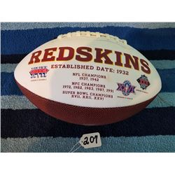 Washington Red Skins Championship Football Official Size