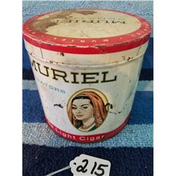 Muriel Cigar Tin