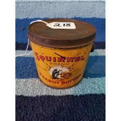 1 Pound Squirrel Peanut Butter Pail