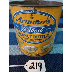 2 Pound Veri Best PB Tin (10 Nursery Rhymes)